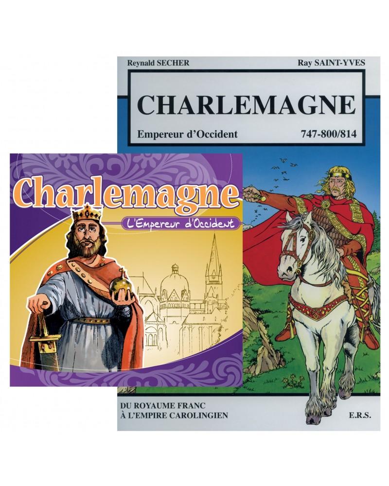 Offre spéciale : Charlemagne en BD et en CD