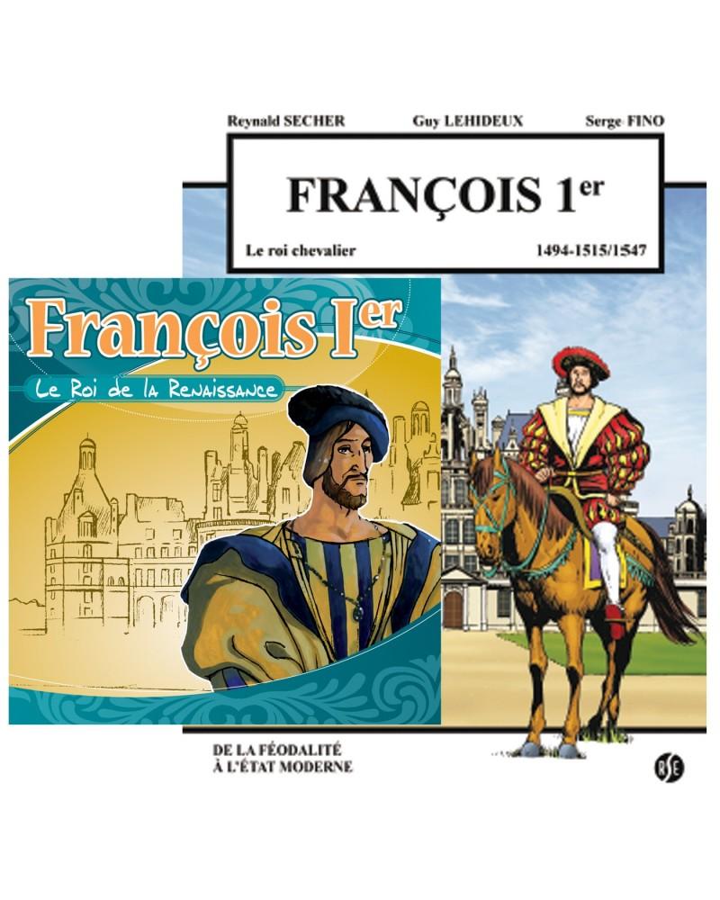 Offre spéciale : François Ier en BD et en CD