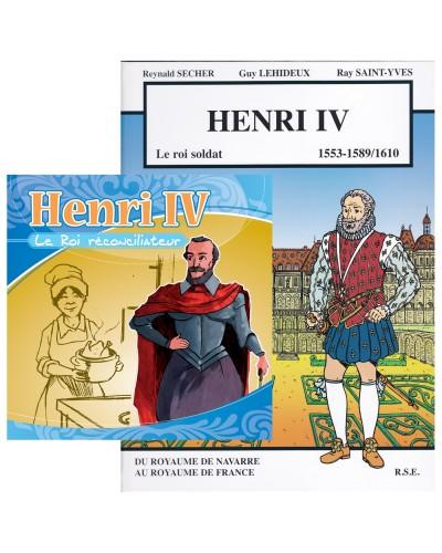 Offre spéciale : Henri IV en BD et en CD