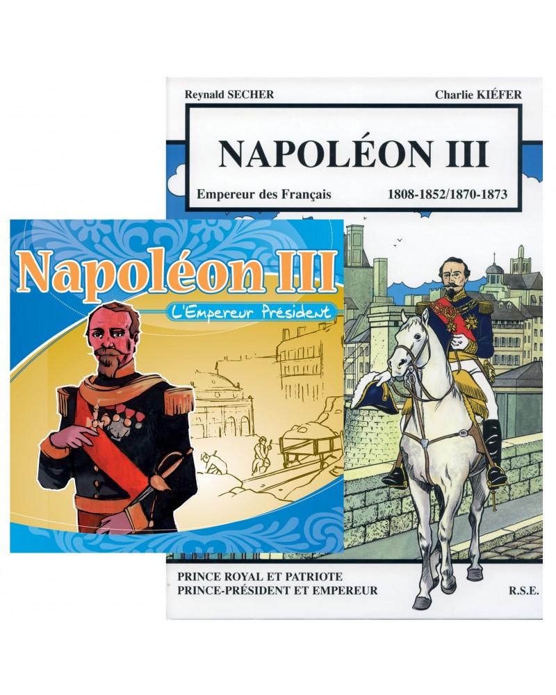 Offre spéciale : Napoléon III en CD et en BD