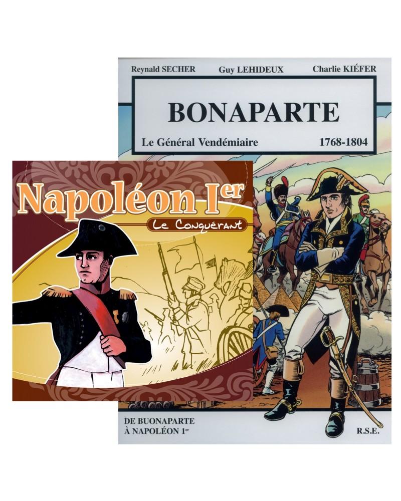 Offre spéciale Bonaparte (1769-1804) en BD et en CD