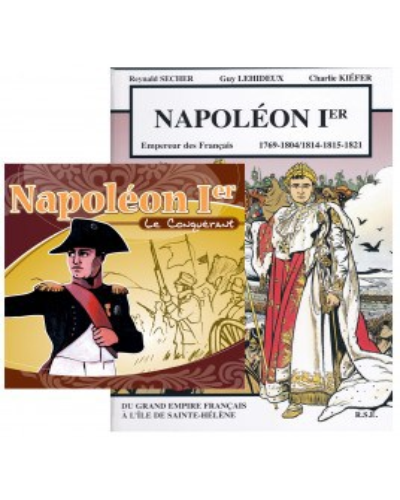 Offre spéciale : Napoléon Ier en BD et en CD