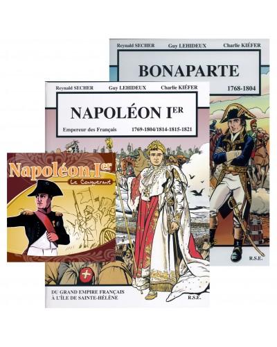 Offre spéciale : Napoléon Ier en 2 BD et en CD