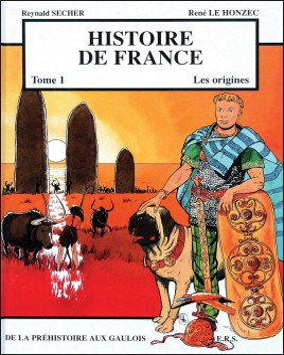 BD Histoire de France - Les origines - Tome 1