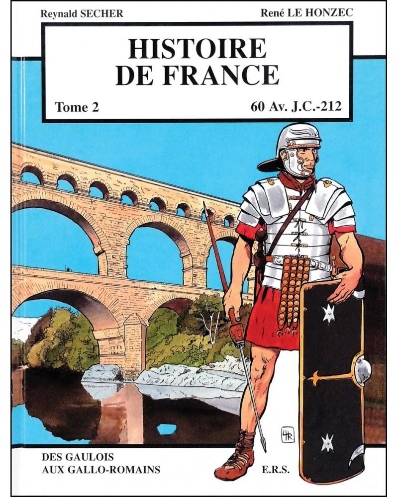 BD Histoire de France - Les origines - Tome 2