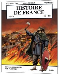 BD Histoire de France - 212-481 - Tome 3