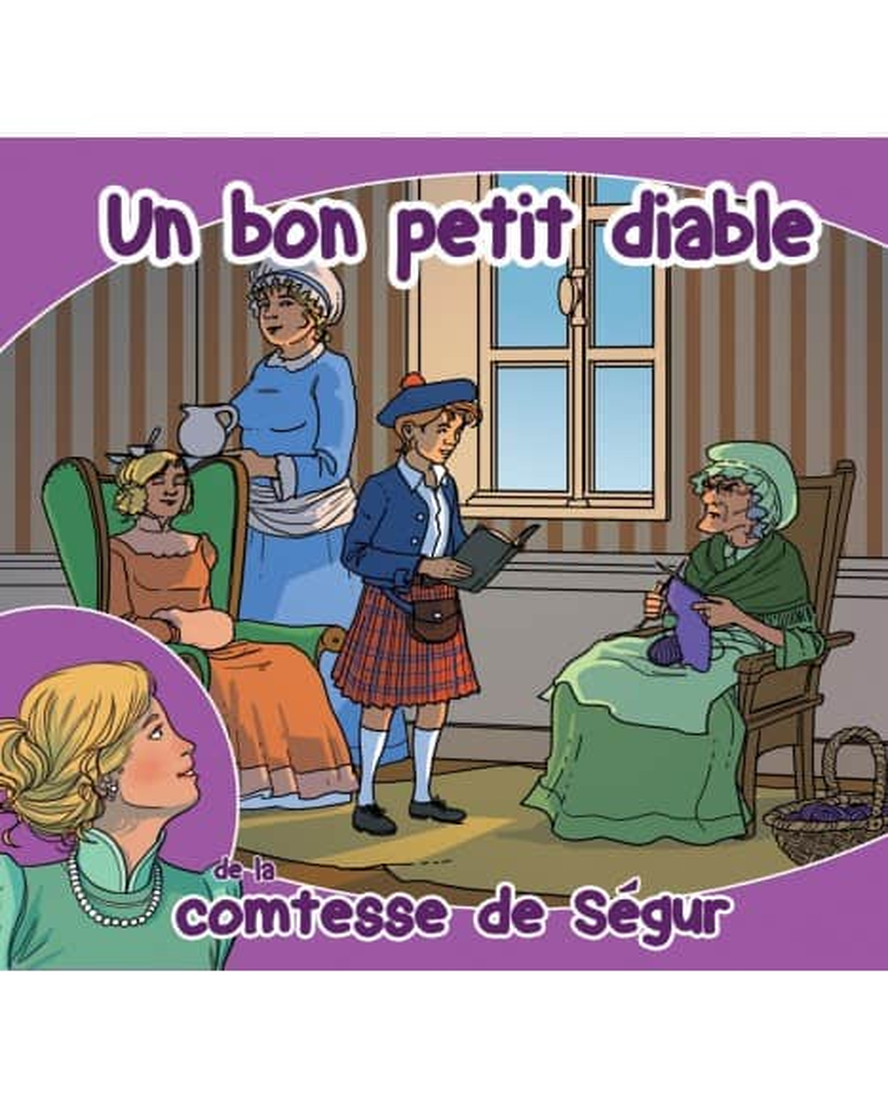 CD Un bon petit diable de la comtesse de Ségur