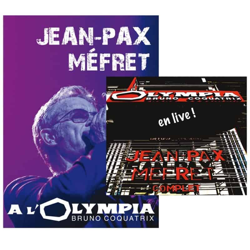 DVD + double CD Jean-Pax Méfret à l'Olympia