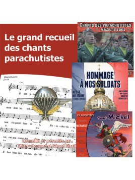 Parachutistes : Le grand recueil + 3 CD