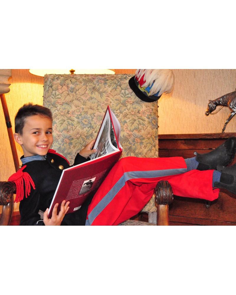 Costume de Saint Cyrien (8 ans - Taille 125-135 cm)  avec Casoar