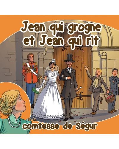 CD Jean qui grogne et Jean qui rit de la comtesse de Ségur