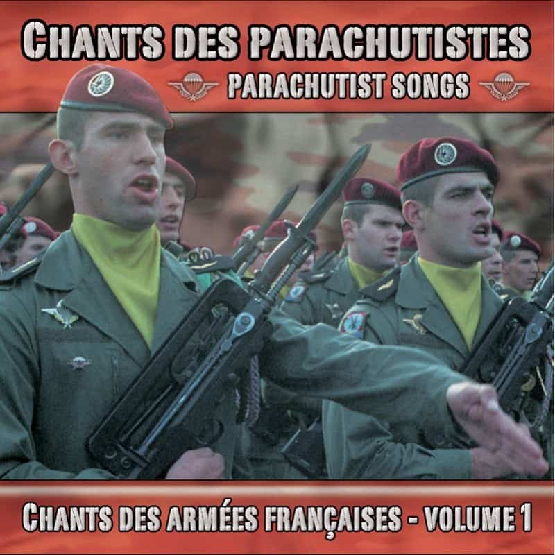 CD Chants des parachutistes