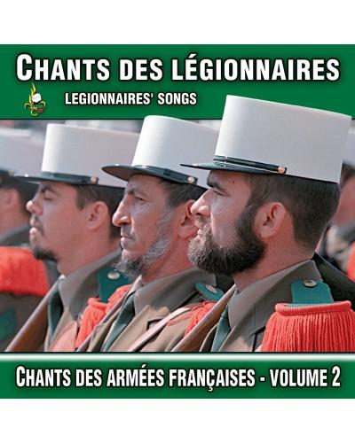 CD Chants des légionnaires