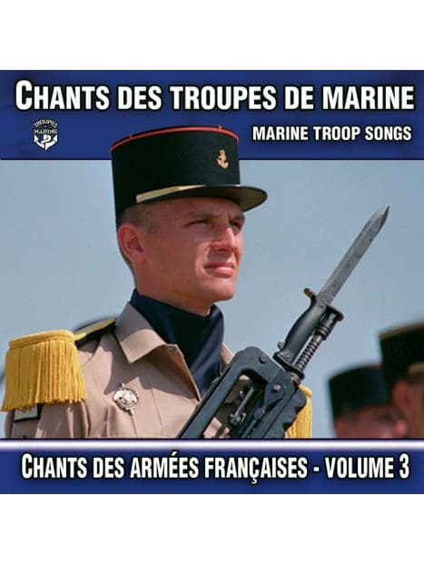 CD Chants des Troupes de Marine