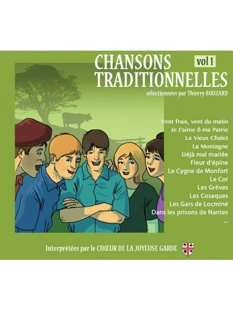 CD Chansons traditionnelles volume 1