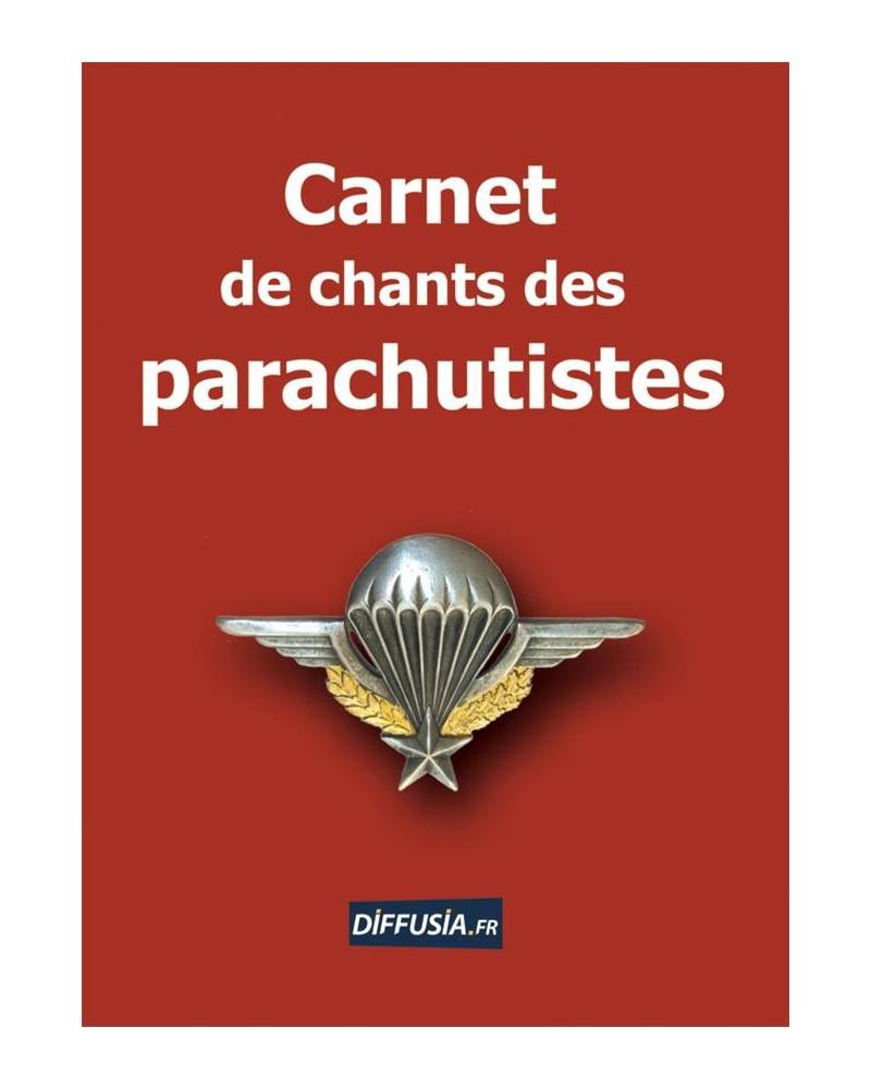 Carnet de chants des parachutistes couverture