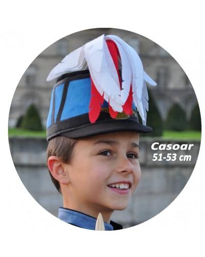 Casoar de Saint Cyrien tour de tête 51-53 cm