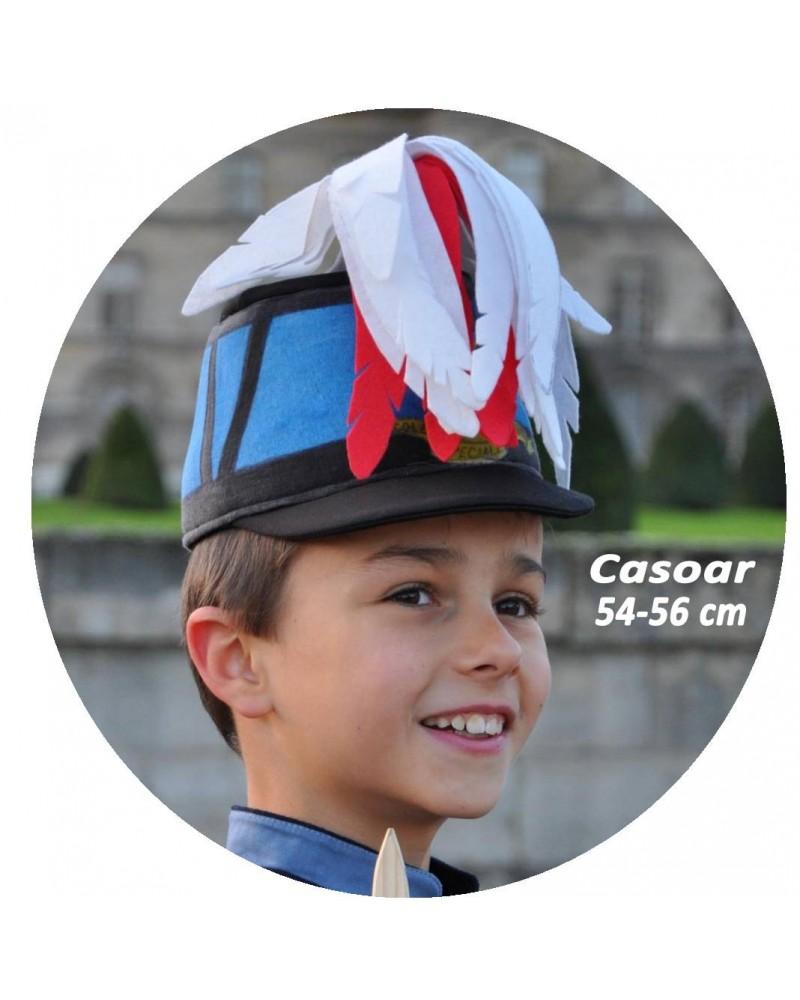 Casoar de Saint Cyrien tour de tête 54-56 cm