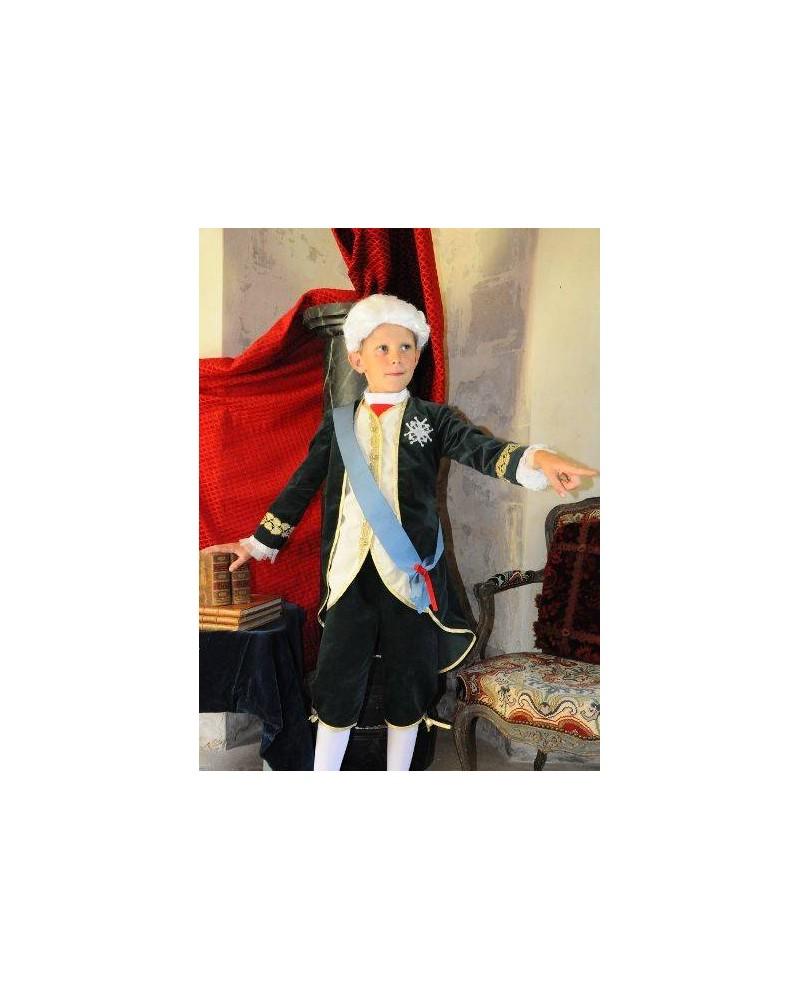 Costume de Louis XV - Taille 6 ans (115-125 cm)