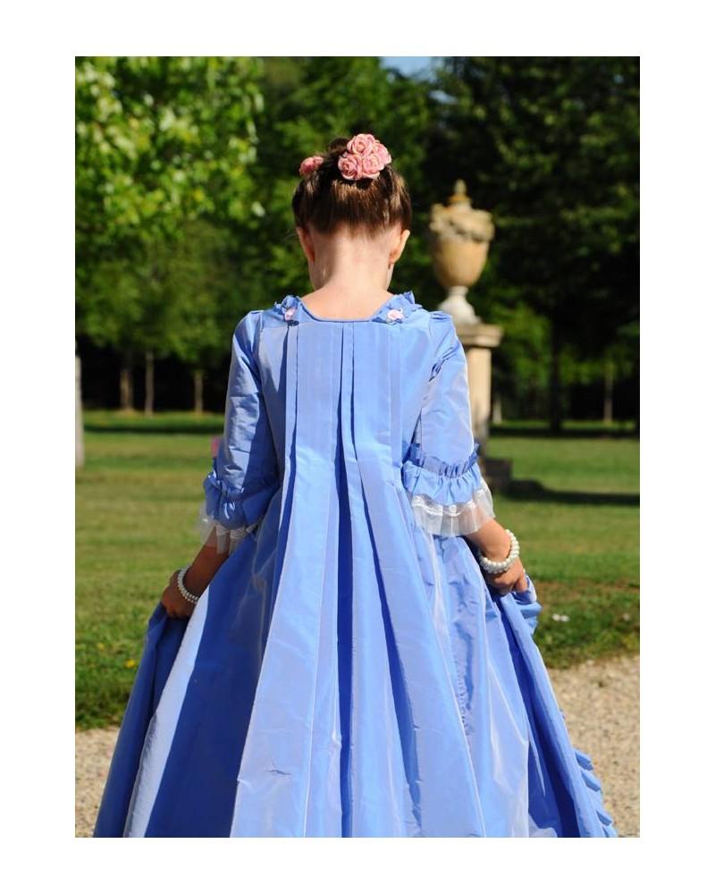 Robe de Madame de Pompadour - Taille 6 ans (115-125 cm)