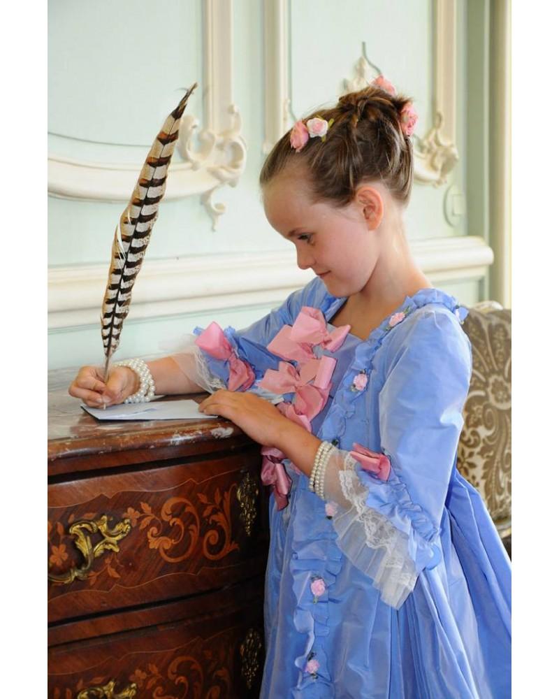 Robe de Madame de Pompadour - Taille 8 ans (125-135 cm)