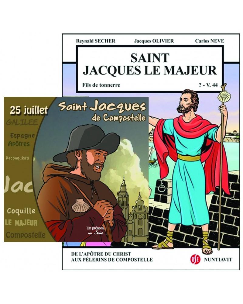 Offre spéciale : Saint Jacques en BD et en CD