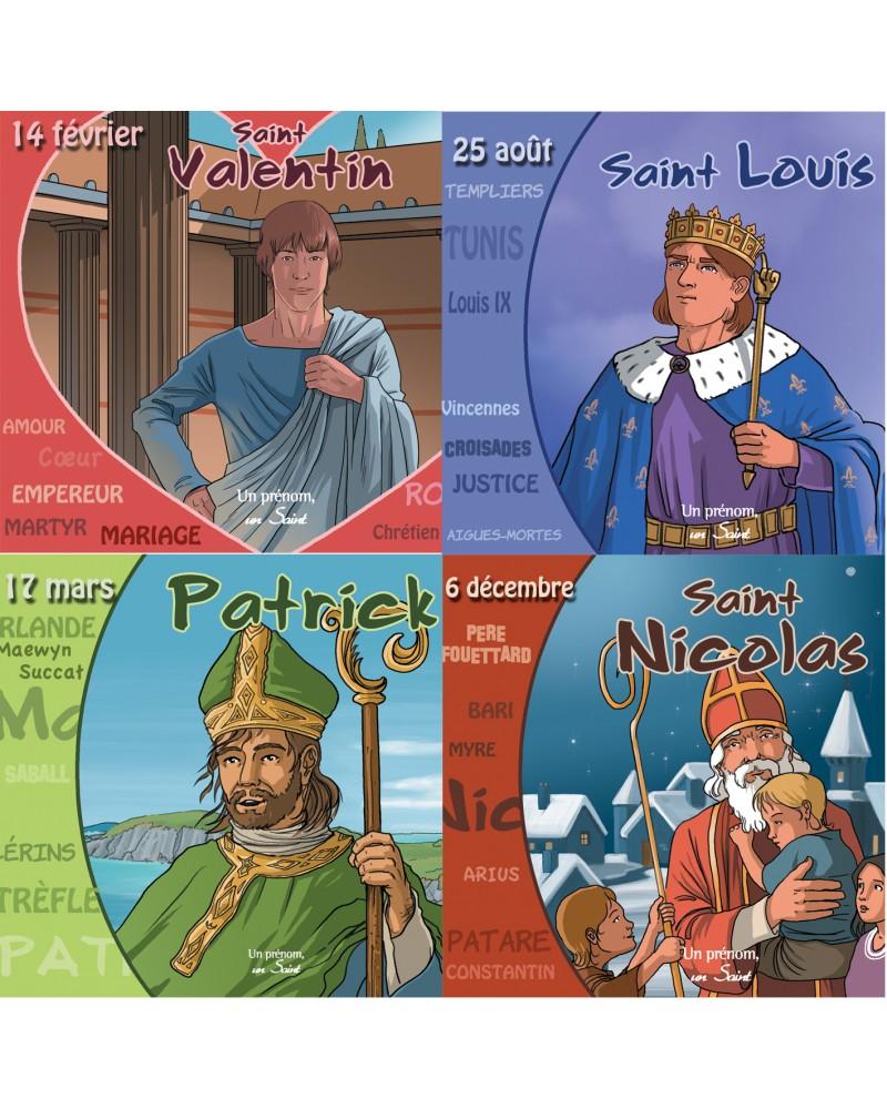 4 CD de saints à l'origine de fêtes célèbres