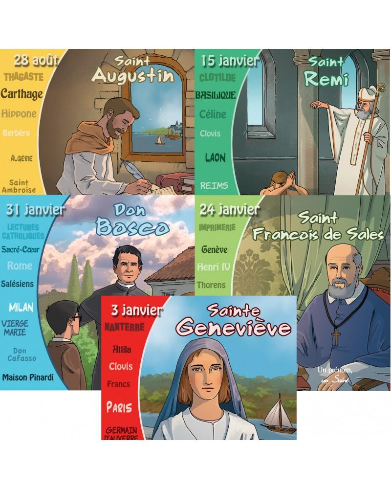 5 nouvelles vies de saints (octobre 2020)
