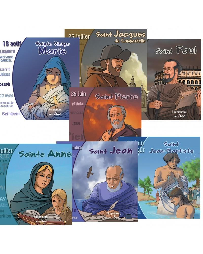 7 vies de saints à l'origine de la chrétienté en CD