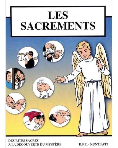 Les sacrements, des rites sacrés à la découverte du mystère en bande dessinée