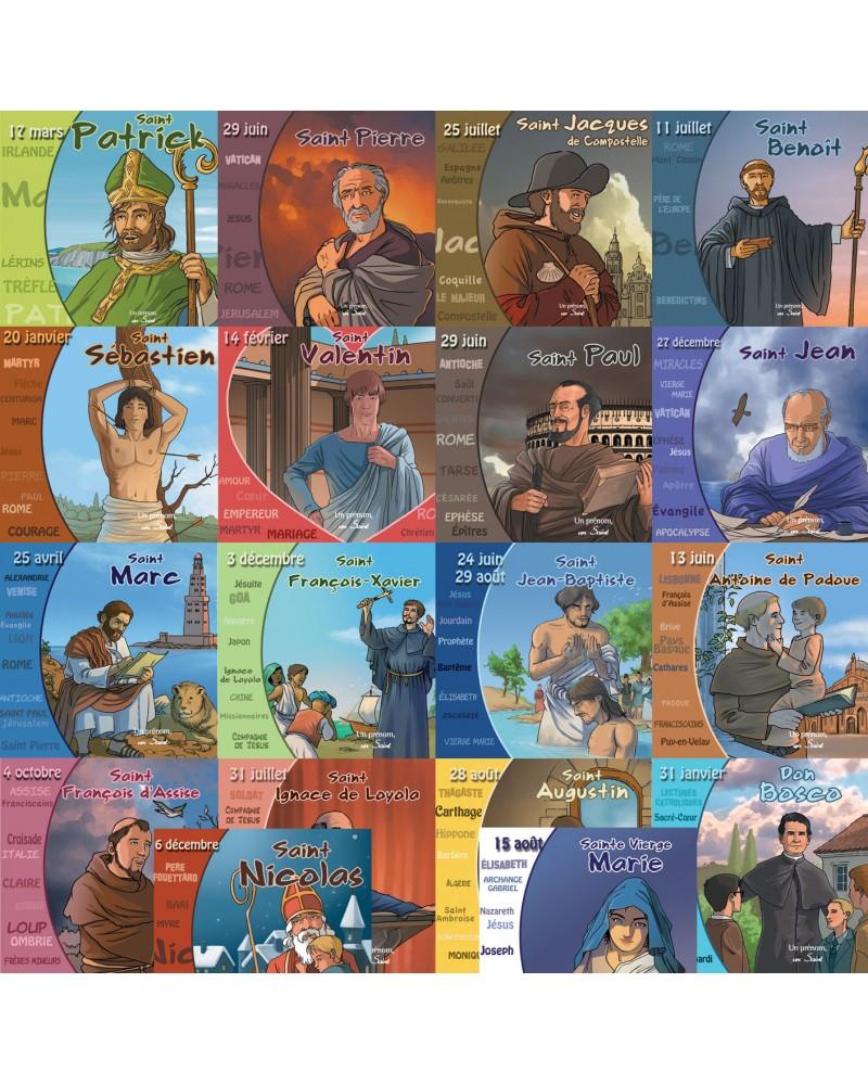 18 saint évangelisateurs en CD