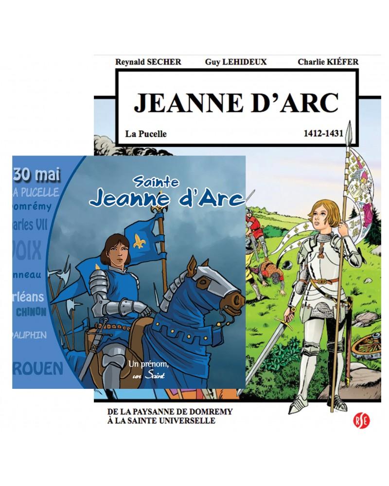 Offre spéciale : Jeanne d'Arc en BD et en CD