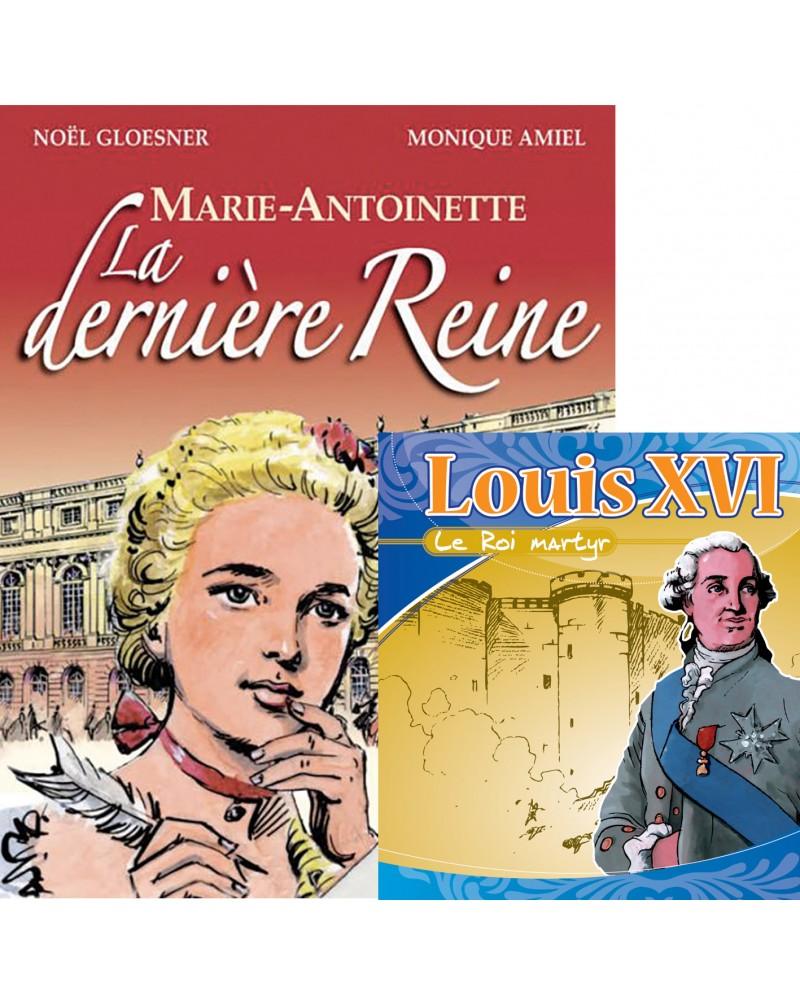 Offre spéciale : BD Marie-Antoinette + CD Louis XVI