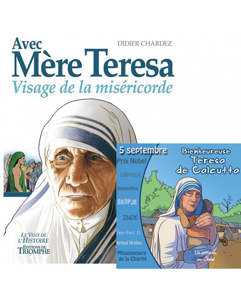 BD Mère Teresa + CD Teresa de Calcutta